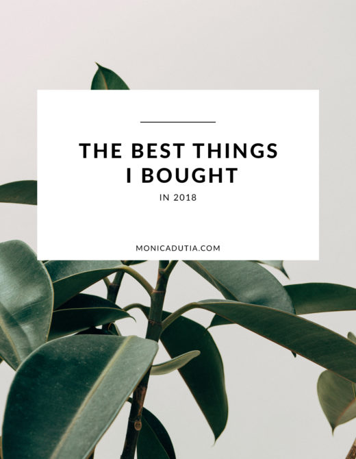 Best things I bought in 2018