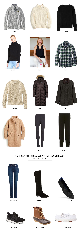 Transitional Wardrobe Essentials