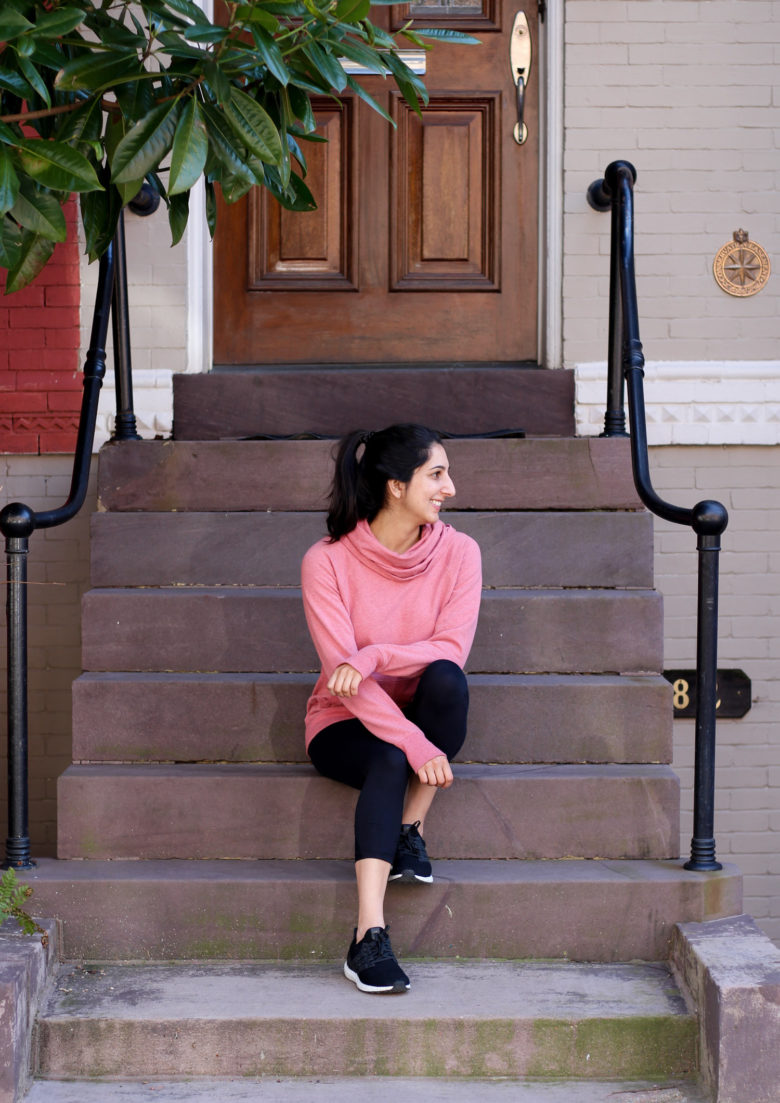 L.L. Bean Cozy Pullover | Updated Fitness Routine
