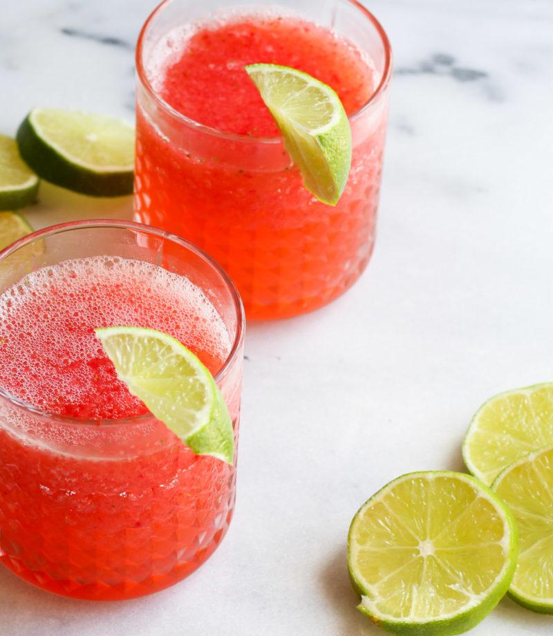 Aperol Rosé Slushie recipe