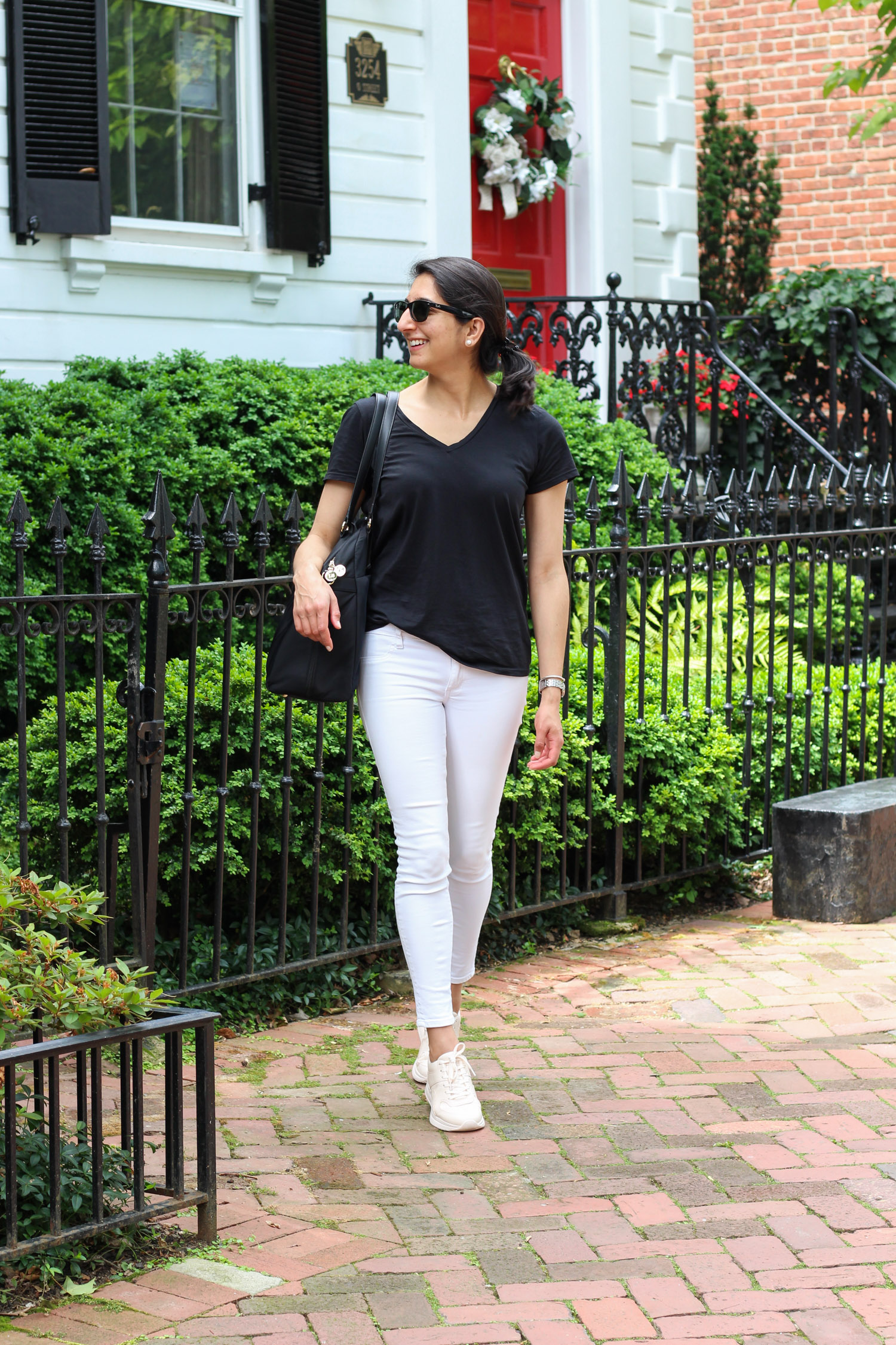 How to style Everlane TREAD sneakers