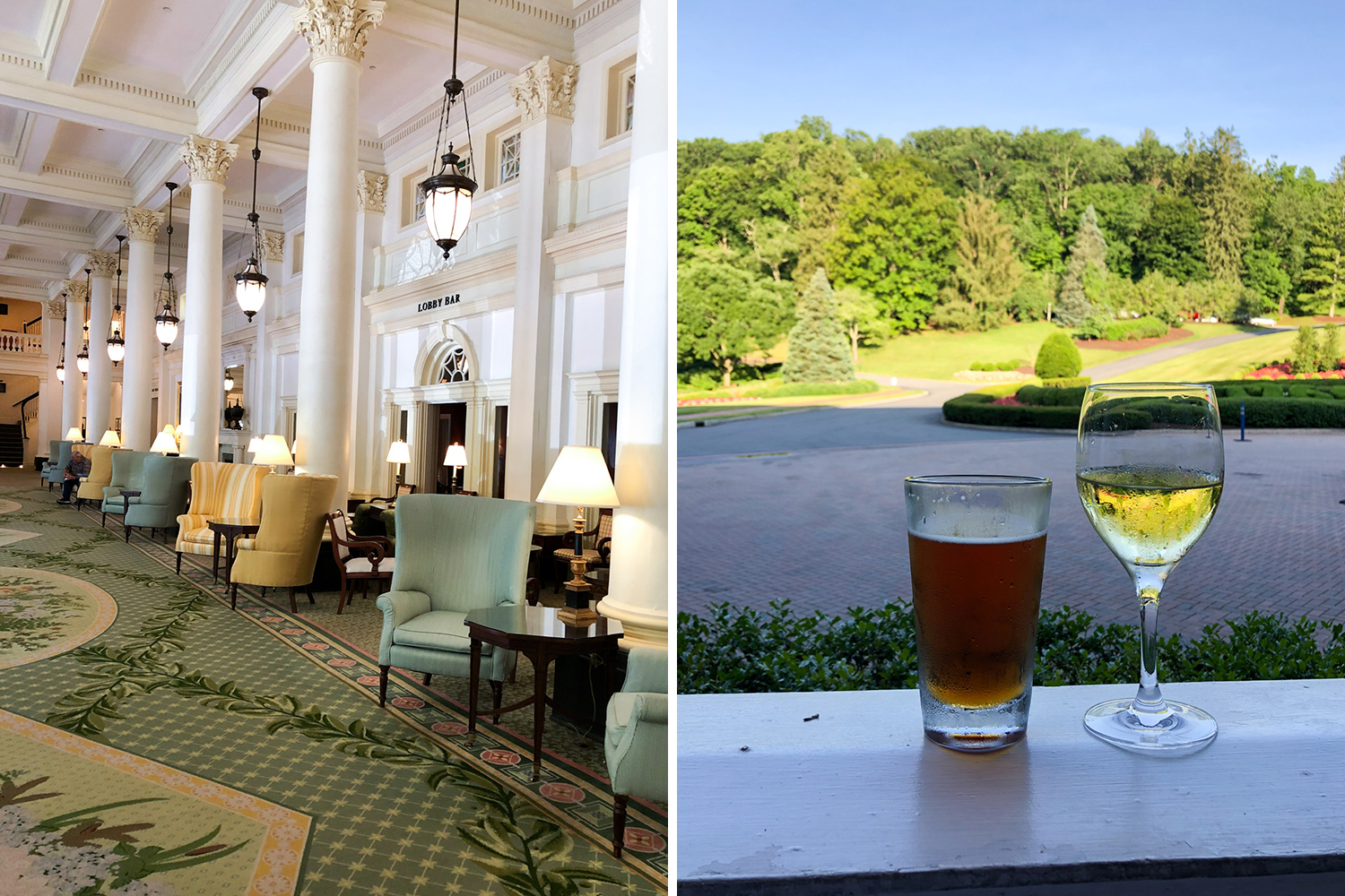 Weekend at the Omni Homestead