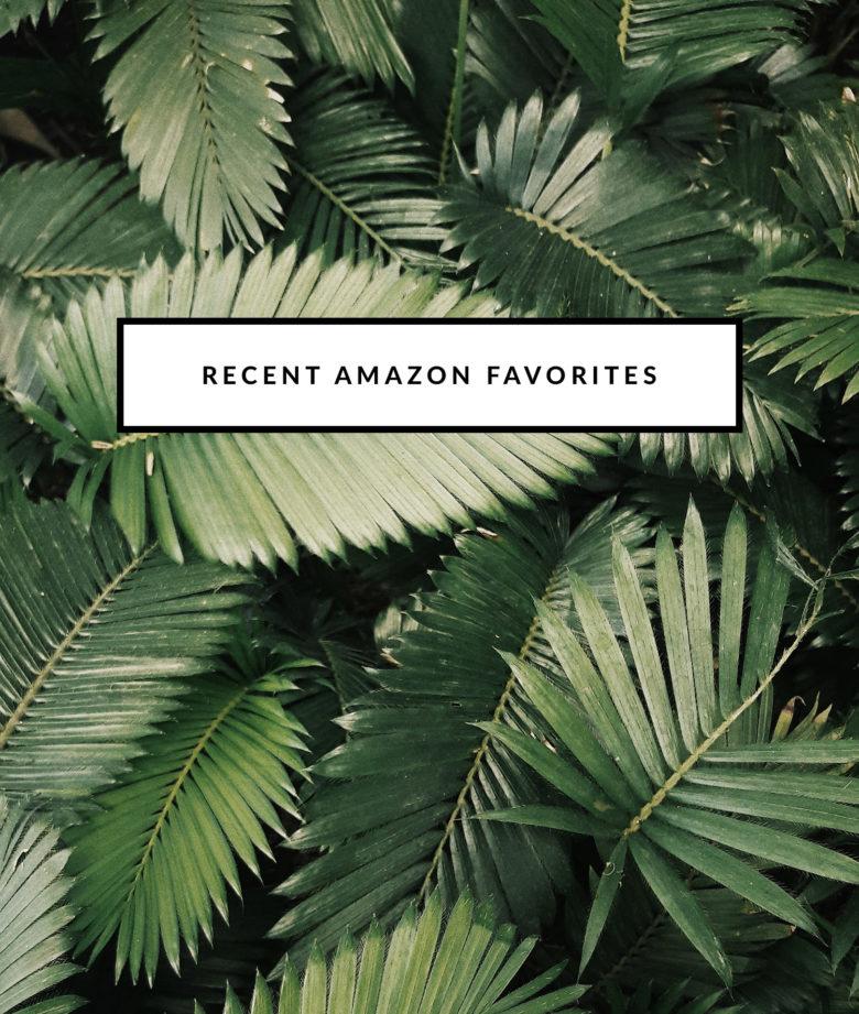 Recent Amazon Favorites