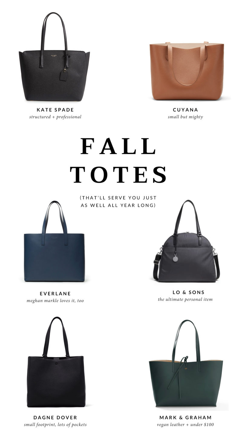 Work Wardrobe: Cute Totes for Fall
