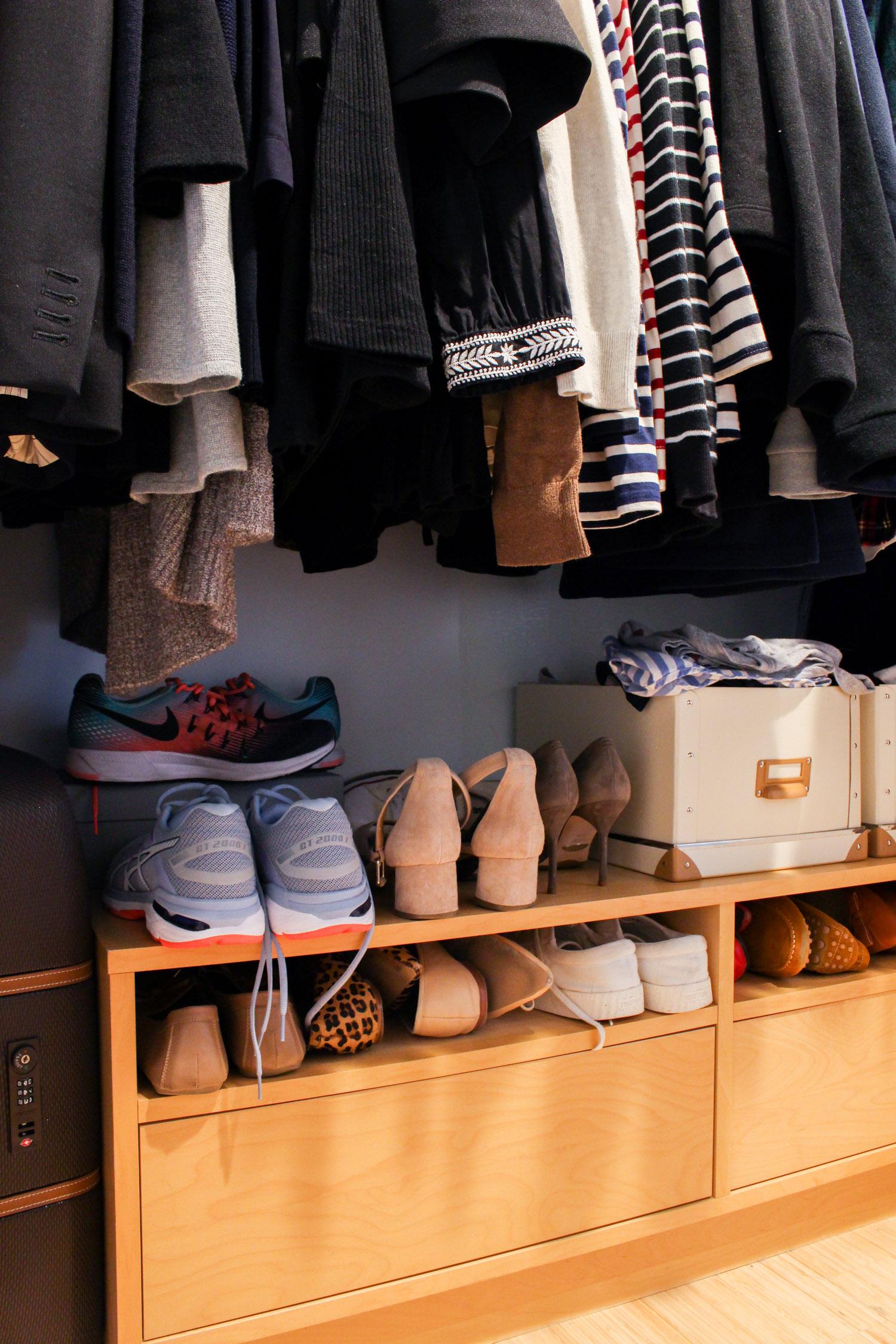 Small Closet Tour