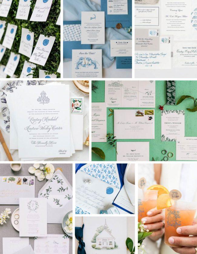 Classic Wedding Paper Suite Inspiration