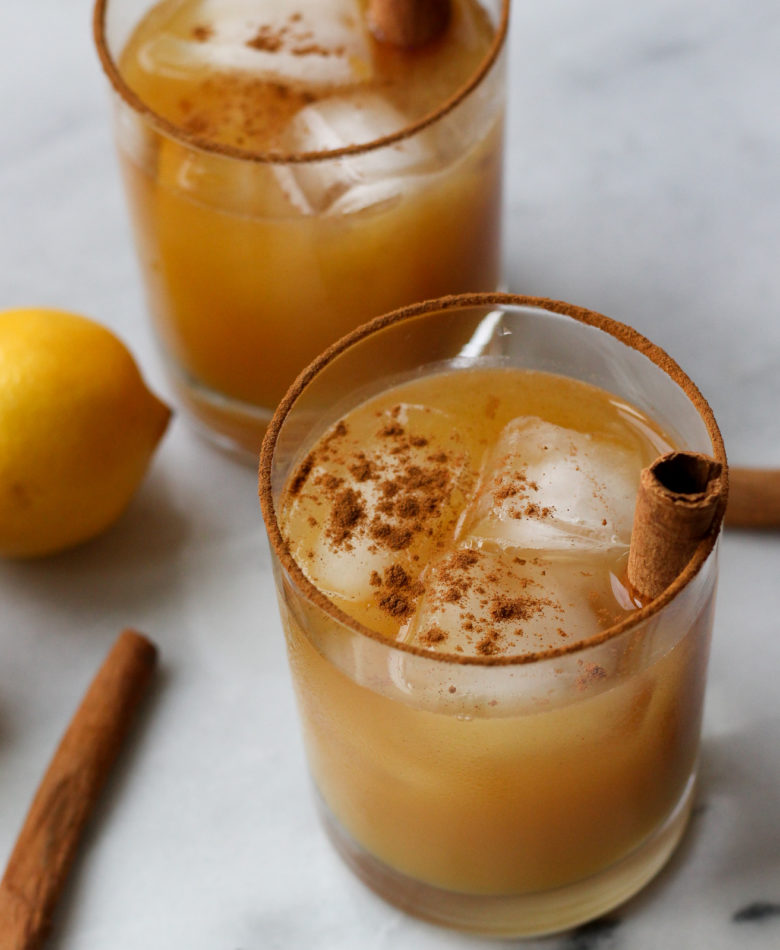 Maple Orange Bourbon Cocktail