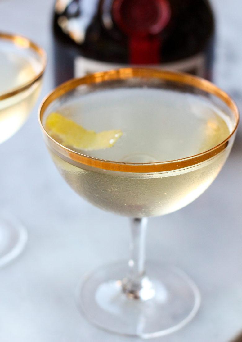 Orangey Gin Cocktail